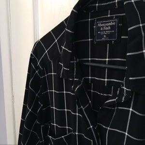 Abercrombie & Fitch Slim Boyfriend Shirt